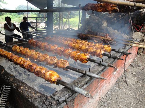 """""""El Saber del Sabor"""" @saberdelsabor #FESS2012 """"Restaurante Palapas Mingo y su tradicional Cochinita a la Cubana"""