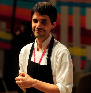 Chef  Virgilio Martinez @VirgilioCentral en Festival Mistura @MisturaPeru