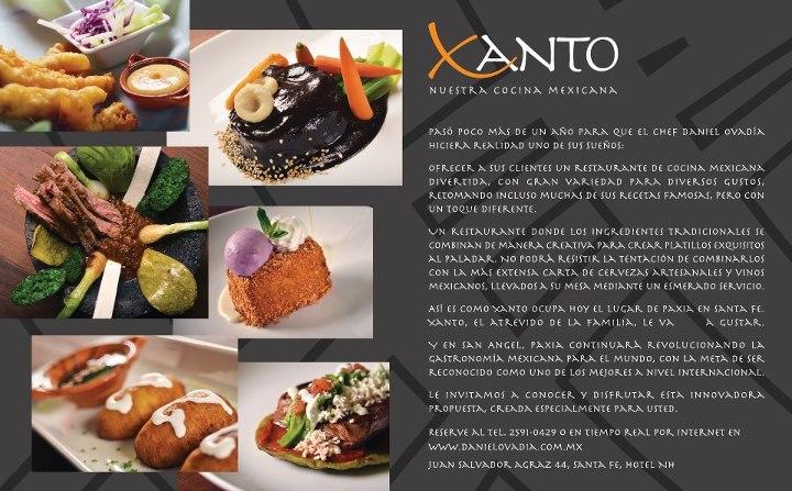 """Conoce Xanto """"Nuestra Cocina Mexicana"""" by Chef @Daniel_Ovadia"""