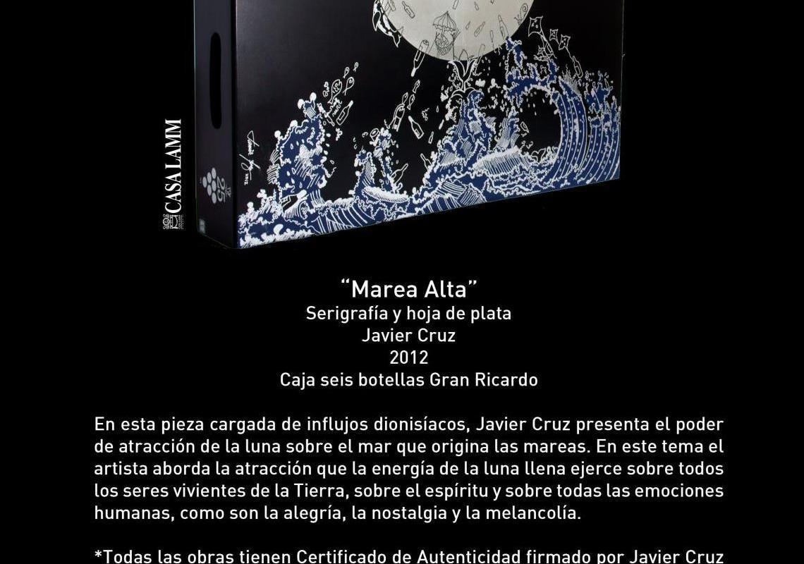 """Conoce caja conmemorativa titulada """"Marea Alta"""" 25 Aniversario de Monte Xanic @Monte_Xanic"""