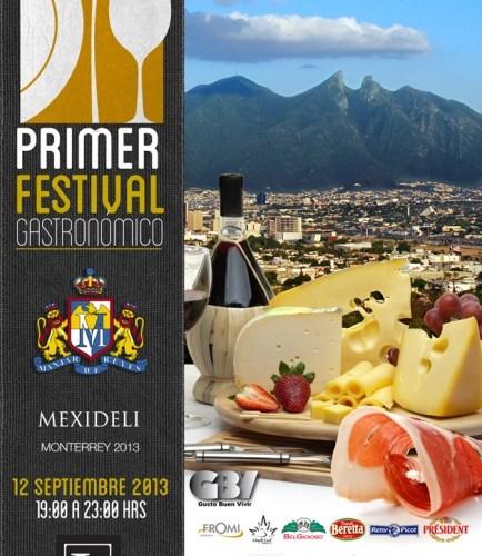 """Conoce los Platillos que participaron en el """"Primer Festival Gastronómico Mexideli 2013"""""""