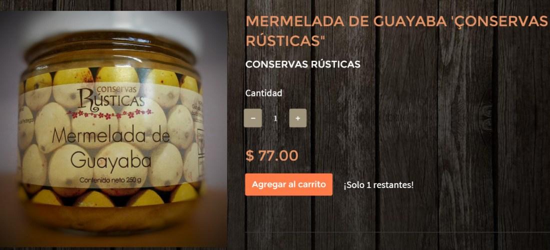 Gourmands Market Mermelada de Guayaba «Conservas Rústicas» @ConservasRustic