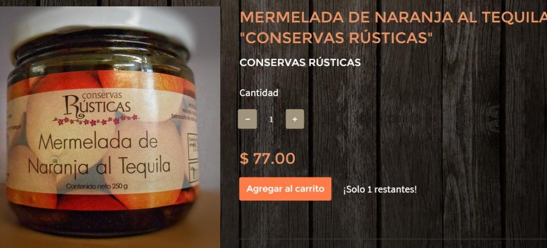 Gourmands Market Mermelada de Naranja al Tequila «Conservas Rústicas» @ConservasRustic