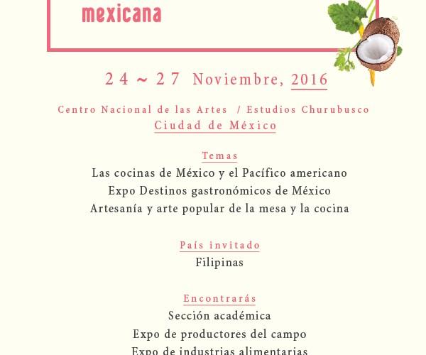 Se acerca el IV Foro Mundial de la Gastronomía no se lo pierdan @FMGM Las Cocinas de México y el Pacifico Americano