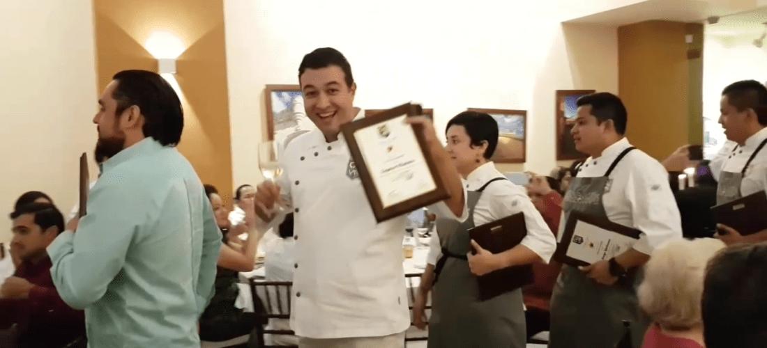 En video Ceremonia Clausura Chef Patrick Cros @patrickcrosc #ConviteGourmet #Campeche #MéxicoGourmet #GustoBuenVivir