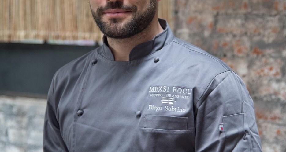 Mexsi Bocu se renueva y realiza un cambio de estafeta y recibe al Chef Diego Sobrino