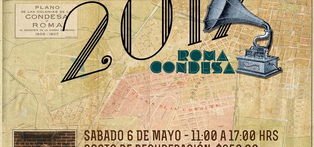Chef Daniel Burns acompaña a grandes Chefs Mexicanos al Vail Verano en el Corredor Cultural Roma Condesa y el cartel.