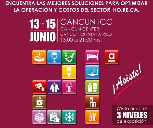 Magna Inauguración de nuestra 21ª Edición de @ExpoHotelCancun 2017