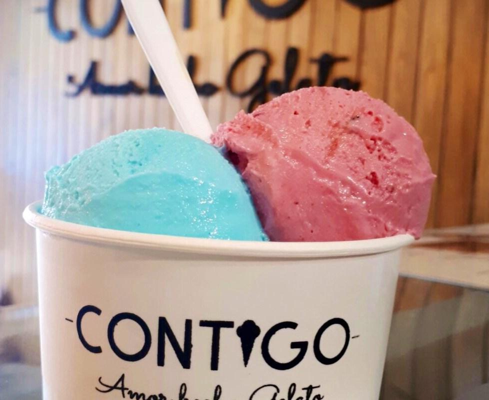 @contigogelato un lugar único que preserva las recetas y técnicas artesanales de los auténticos gelatos italianos.