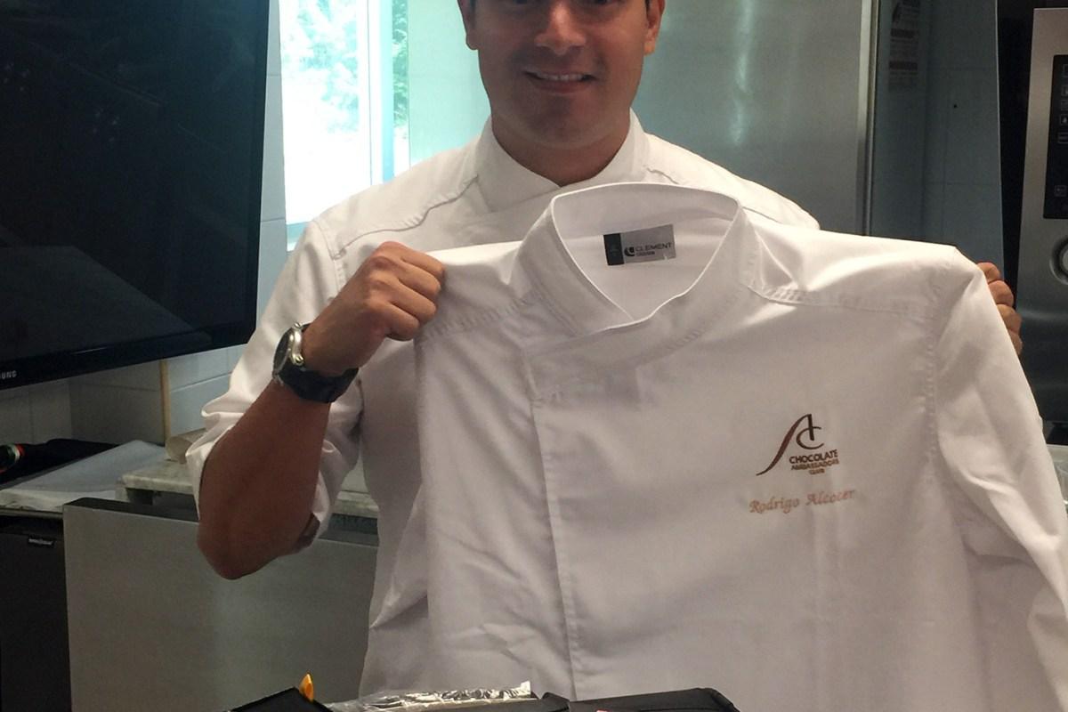El Chef Rodrigo Alcocer se une al selecto grupo de embajadores de @CallebautChocolate #BarryCallebaut  #Chocolate