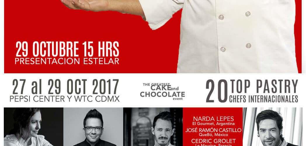 @cakemastersmx presenta a #BuddyValastro en #CDMX ¡Conóce al chef pastelero más querido de la tv!
