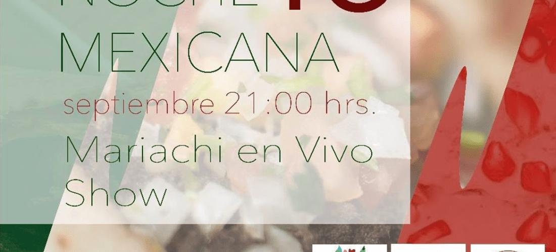 Festeja el #15DeSeptiembre en @MarcheDumas Noche Mexicana