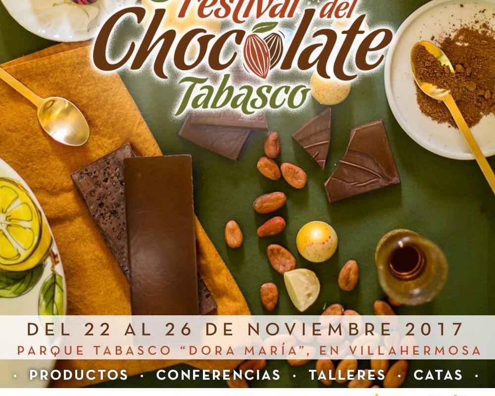 Tabasco celebra al Cacao con el 8° Festival del Chocolate @festivalchoco @OCV_Tabasco 