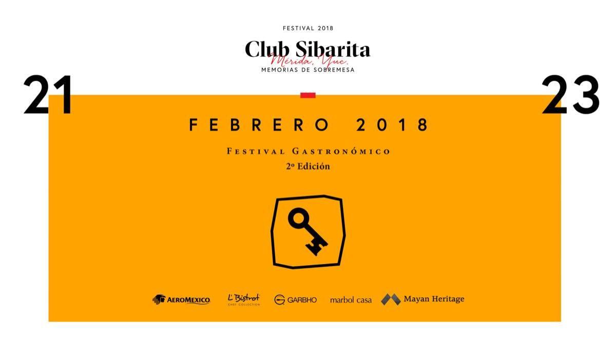 A una semana del Festival Gastronómico @CLUBSIBARITAMX 2º edición