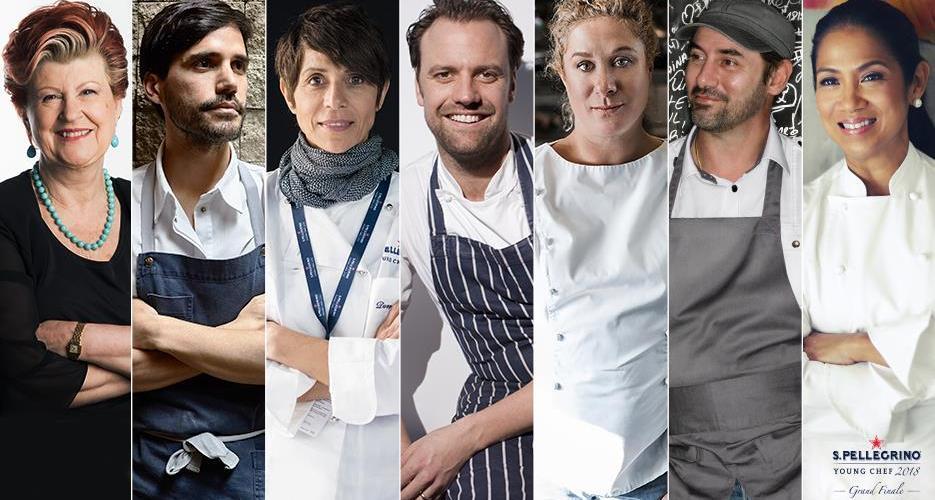 Conoce a los siete sabios que conformarán el gran jurado de la final de S.Pellegrino young chef 2018