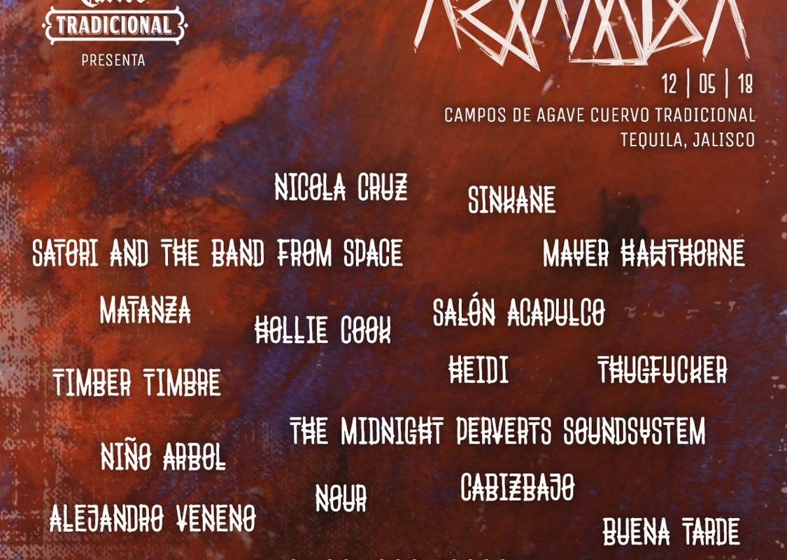 Tequila Cuervo Tradicional presenta @AkambaMx, el festival donde se une la música, el arte, la gastronomía