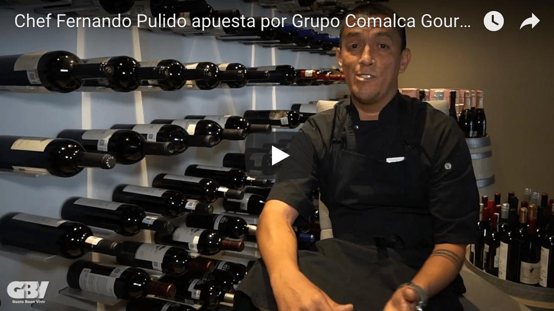 Chef Fernando Pulido apuesta por los productos Gourmet de Grupo Comalca