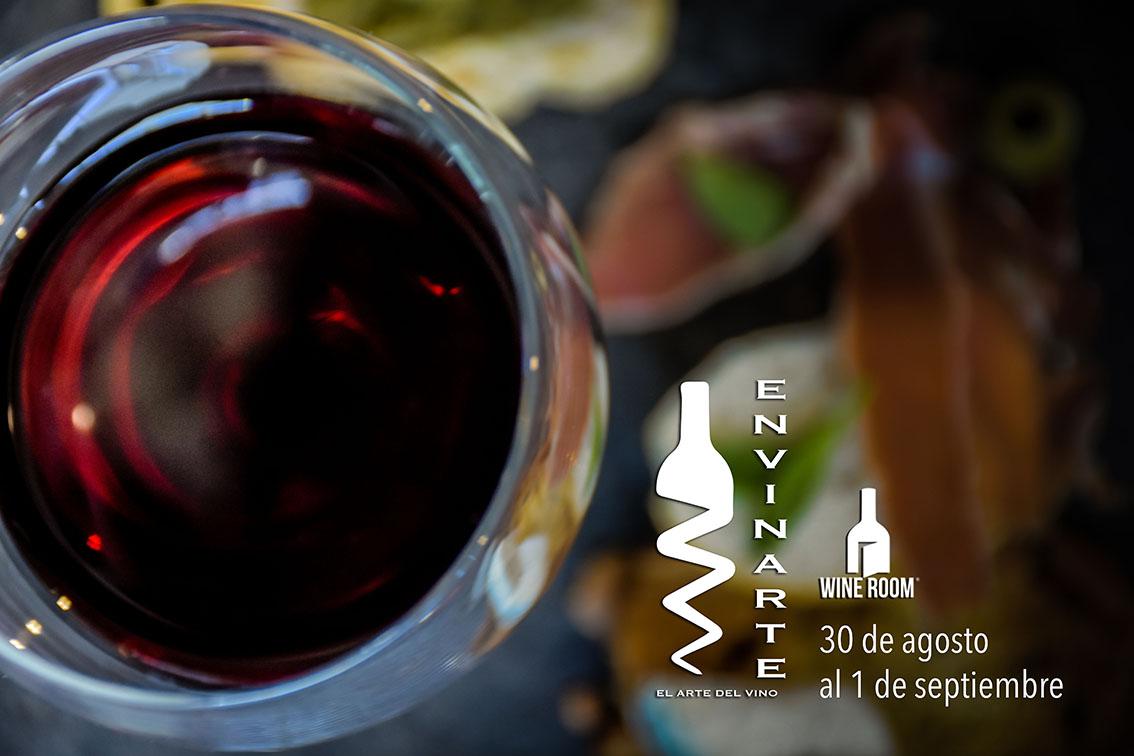 @envinartemx presente en el Wine Room 2018