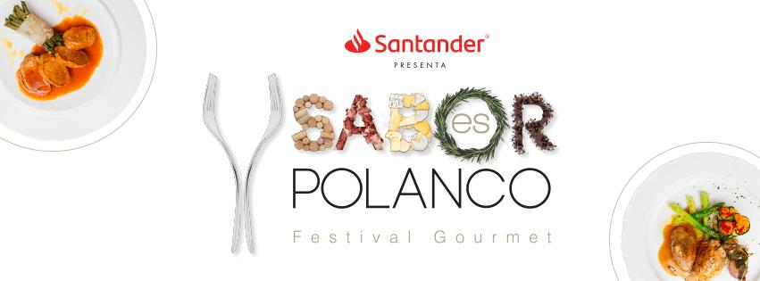 Regresa @SaboresPolanco el festival gourmet más prestigioso de México, con su 5ª. Edición los días Sábado 3 y Domingo 4 de Noviembre serán las fechas en que Sabor es Polanco llegue a su acostumbrada cede en el Campo Marte