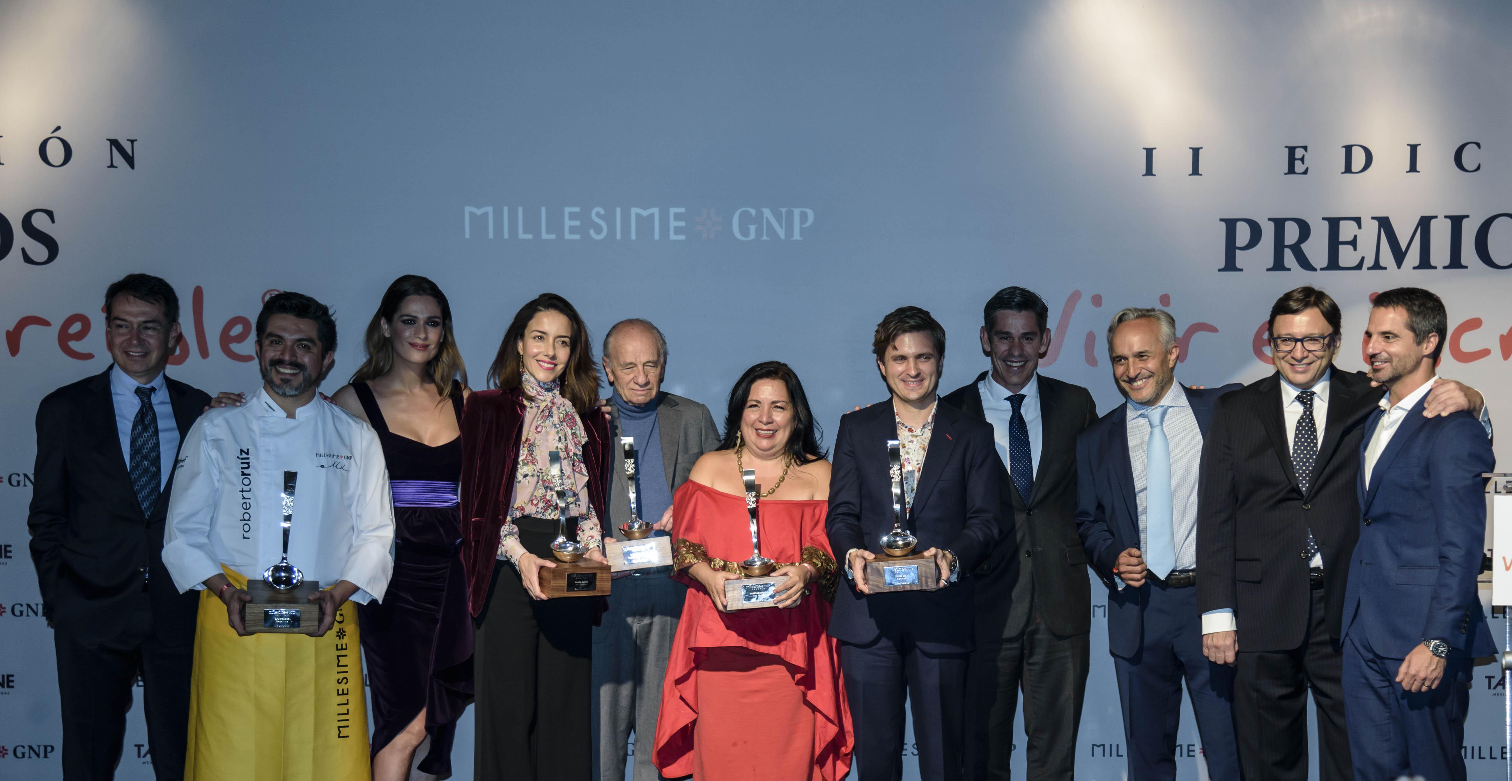 Premios VIvir es Increíble ii edición en MIllesime GNP