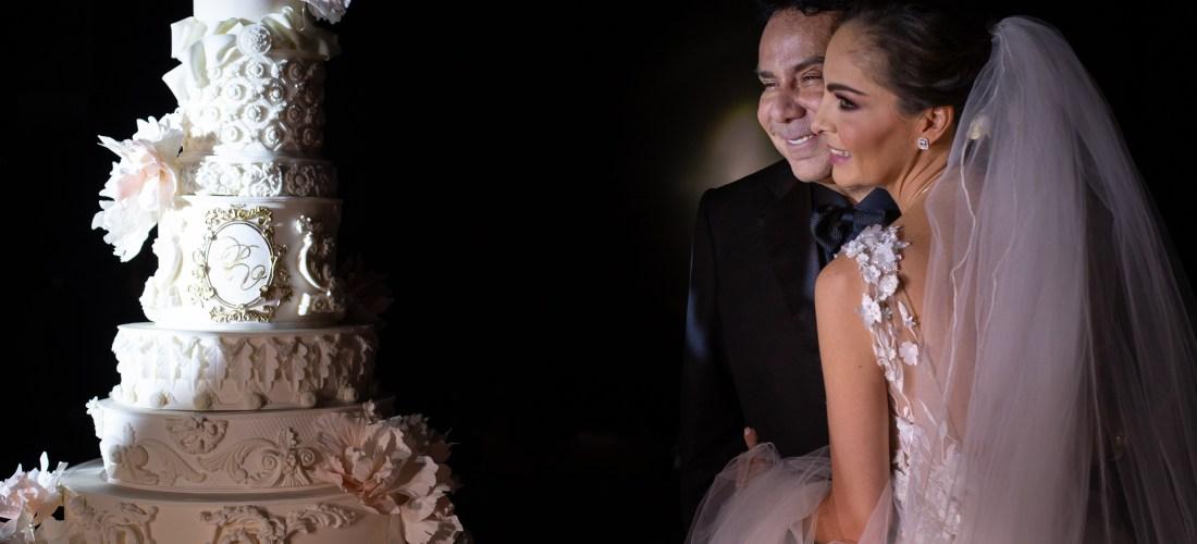 """La boda de la famosa pastelera mexicana Paulina Abascal, en la nueva serie """"Mi Boda"""" por Más Chic"""
