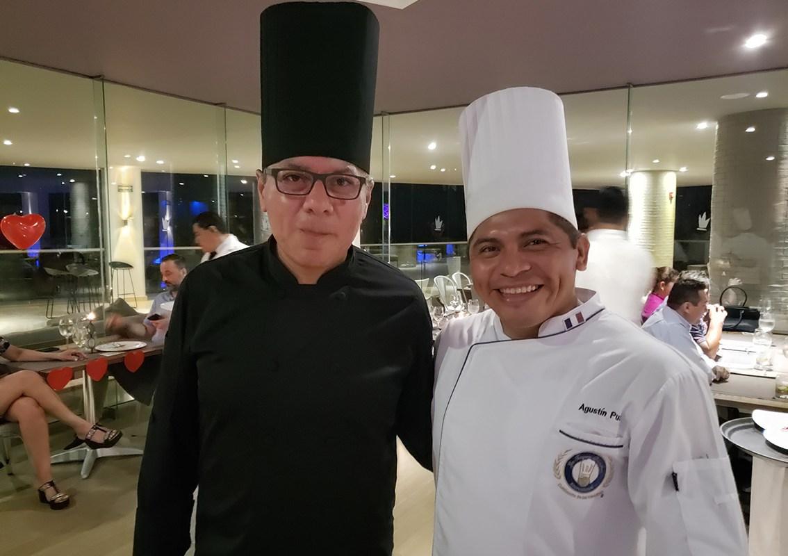 A detalle los platillos de la Cena Recorrido del Caribe, creaciones de dos grandes Chefs Alejandro López y Agustin Puc