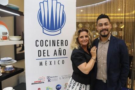 Eva Garcia Cuervo y Fernando Martinez Zavala