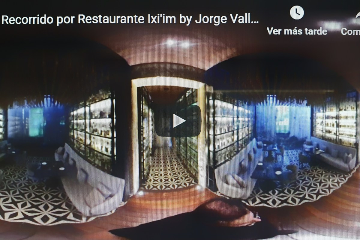 Recorrido en #3D Restaurante Ixi´im by Chef Jorge Vallejo & Luis Ronzón de Chable Resort & Spa