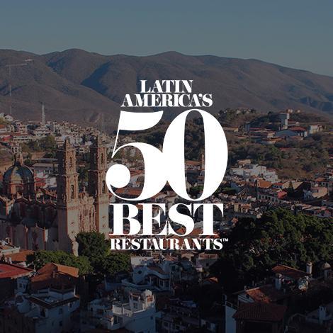 México se posiciona en los Latin America's 50 best restaurants