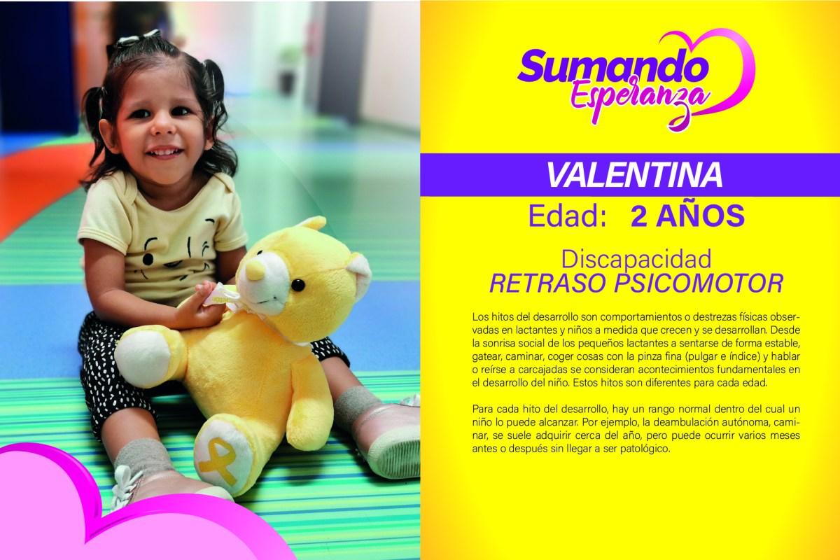 Valentina – Sumando Esperanza