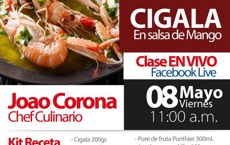 Cigala en salsa de Mango By Gourmet´s Market #TuRecetaEnCasa