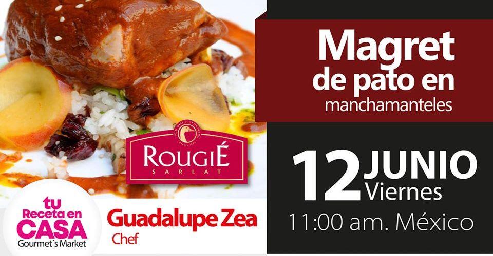 Magret de Pato en Manchamanteles by Guadalupe Zea