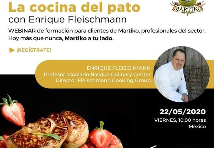Webinar – La Cocina del Pato by Xperiencias Gastronómicas