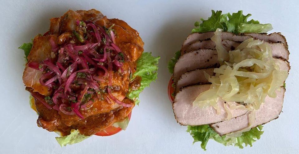 Temporal: Deliciosos Sándwiches Gourmets