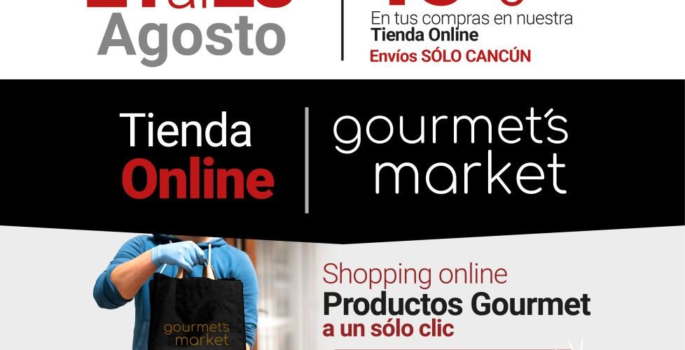Tienda Gourmet Online – Exclusivo en Cancún