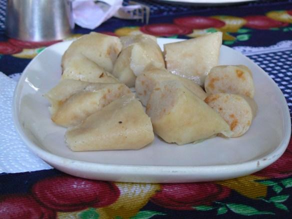 Imagen de tungos, comida llanera.