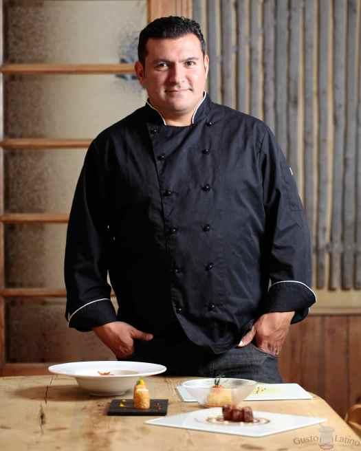 Chef argentino Javier Brichetto