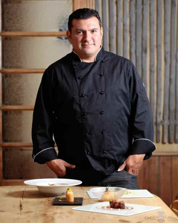 Chef argentino Javier Brichetto