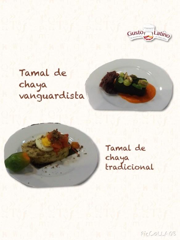 Tamales hoja chaya