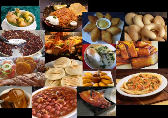 Comida regional colombiana