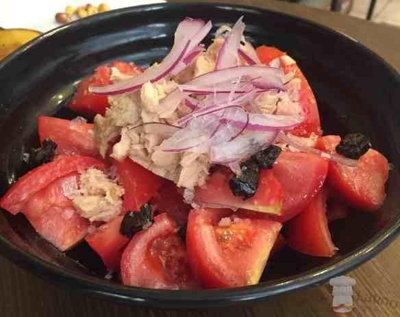 Ensalada tomate ventresca 1
