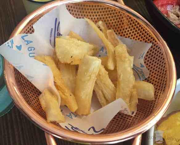 Yuca frita 1