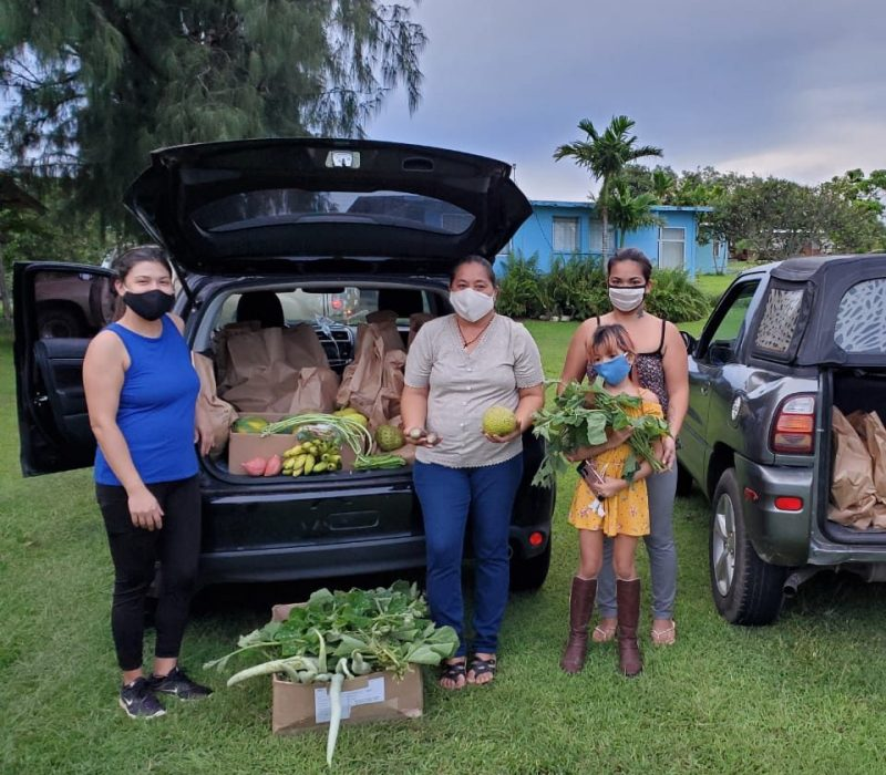 Local produce donation made to Island Girl Power
