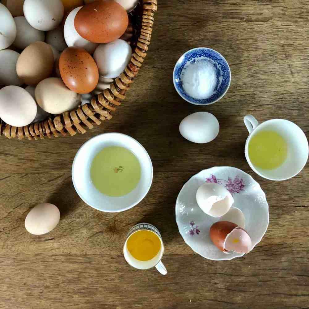 Eier vorsichtig trennen