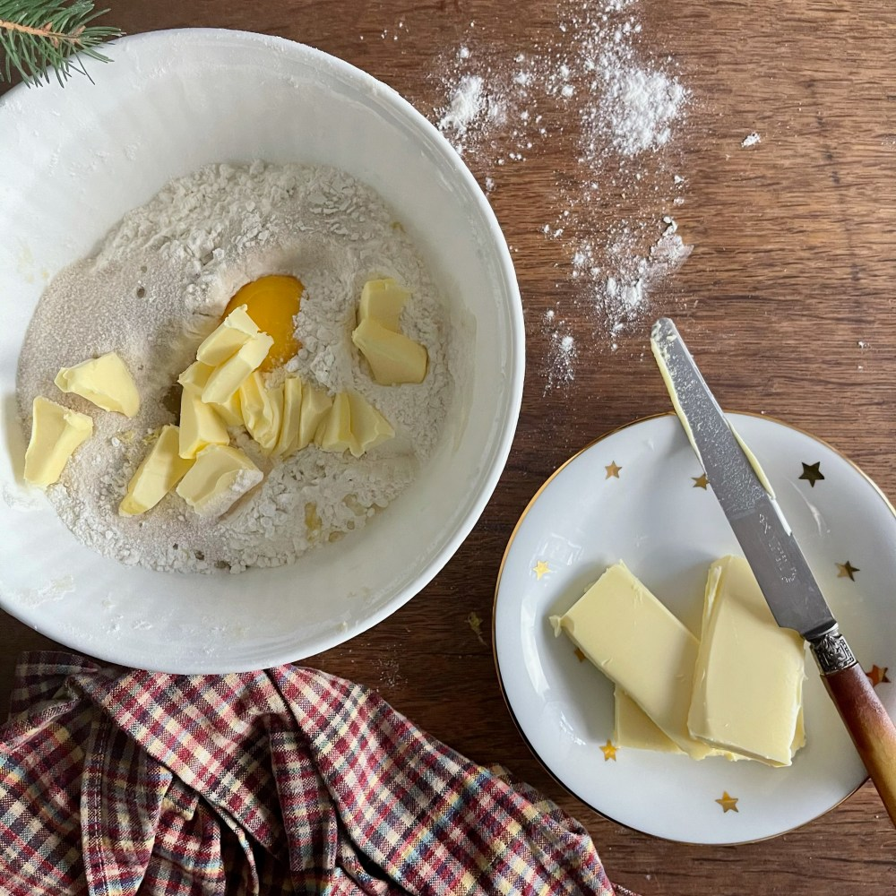 Keine Butterkekse ohne Butter!