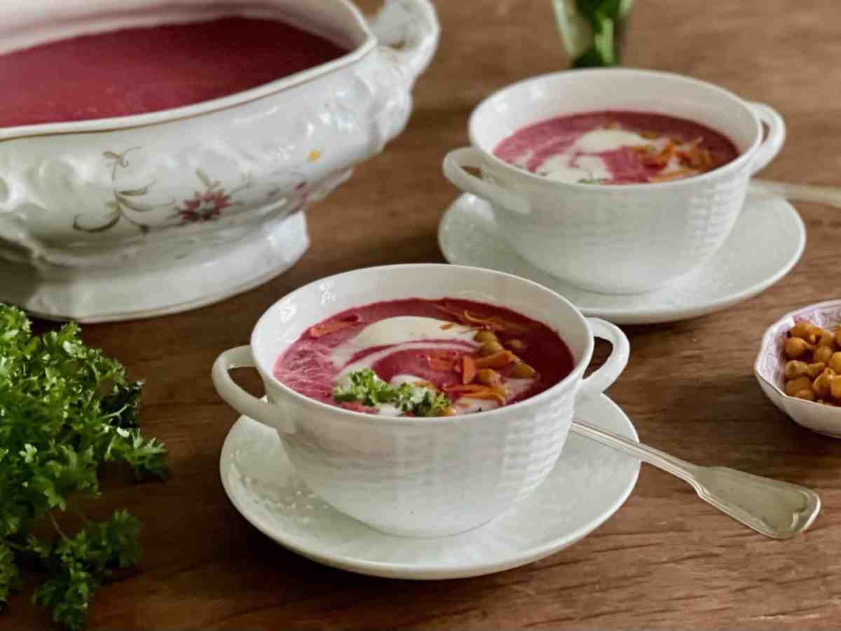 Rote Bete Suppe