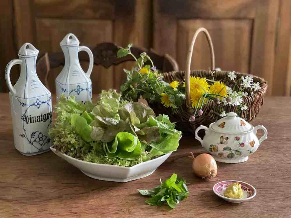 Wildkräuter für Salat: Alle Zutaten auf einem Blick