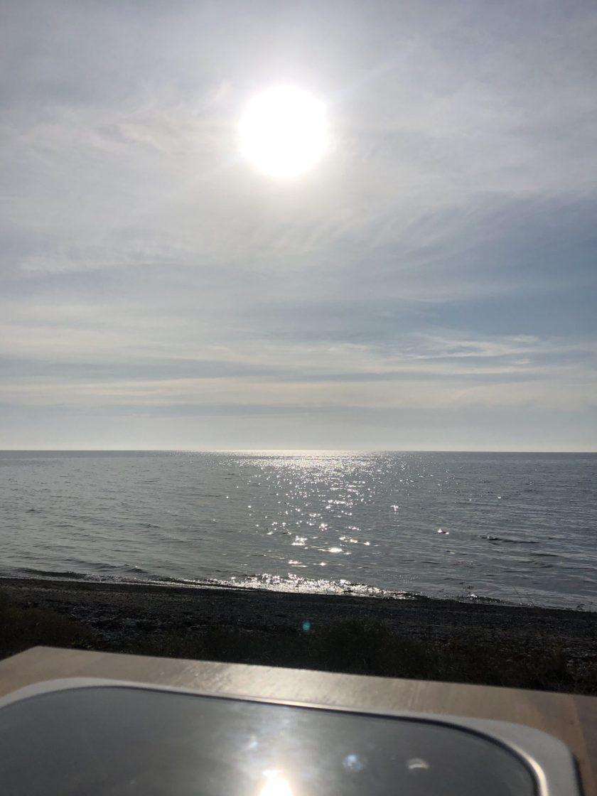 Die Sonne und das Meer von Saaremaa
