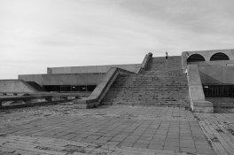 Die einstige Stadthalle Linnahall von Tallinn