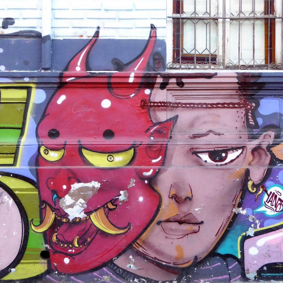Santiago Graffiti